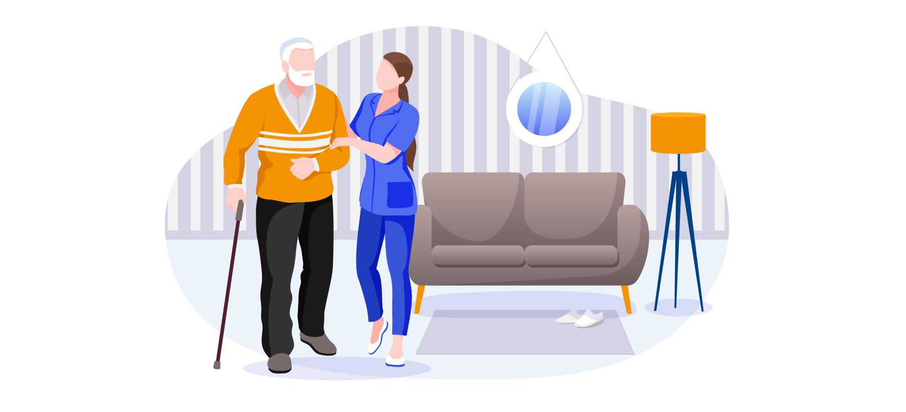 Assistenza domiciliare al paziente fragile